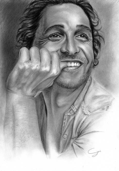 Matthew McConaughey by Hillcza